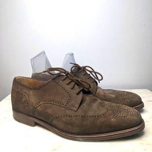 Bally Oxford Suede Derby Banbury Shoes
